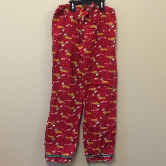 Christmas Pajama Pants.Dachshund Christmas Pajama Pants